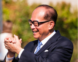 Hong Kong billionaire Li Ka-Shing.