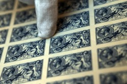 The famous Seahorse stamps, prized for their engraving and their design
